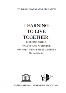 Cover of Learning to Live together