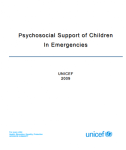Cover of PPS Support in Emergencies by Unicef