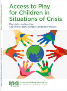 Access to play for children in situations of crisis cover