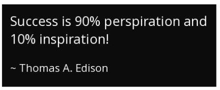 Thomas A Edison quote