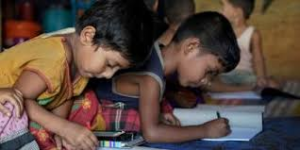 Rohingya Children At school courtesy of VSO